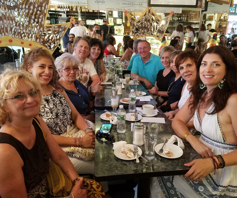 One of our New York Cannoli Crawl groups