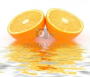 mirroir oranges