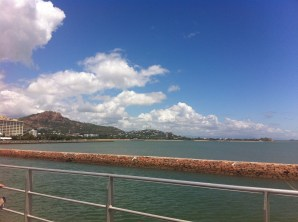 Leaving Townsville on the way to Magnetic Island