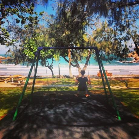 Swinging in Arcadia Bay