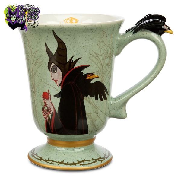 Disney Store Art Of Aurora Collection Ceramic Mug Maleficent & Diablo Marc Davis