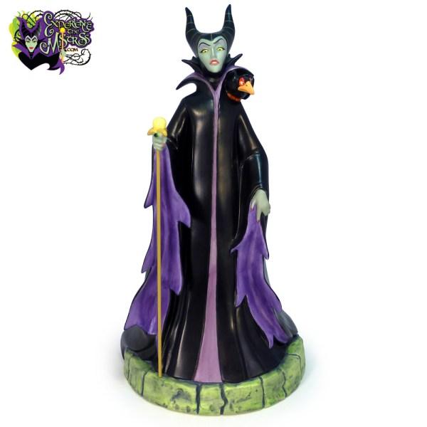 Disney Store Walt Villains Porcelain Figurine Maleficent & Diablo