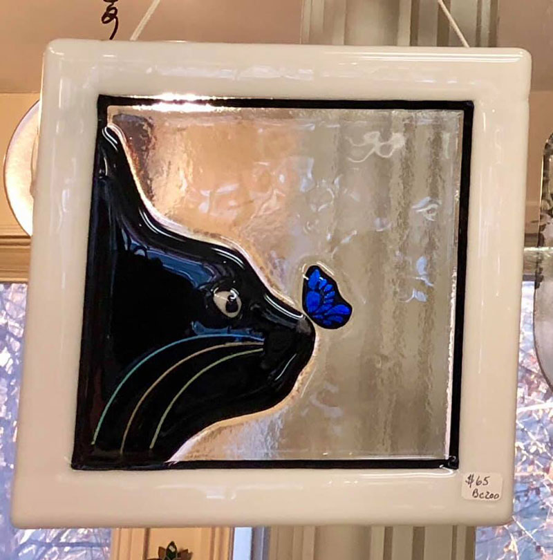 Black-Cat-Gallery-Owego-Black-Cat-with-Butterful-Stained-Glass-Art