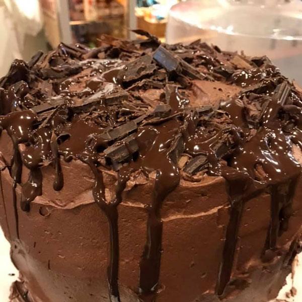 Carol's-Coffee-and-Art-Bar-Owego-Tioga-County-NY-Chocolate-Cake