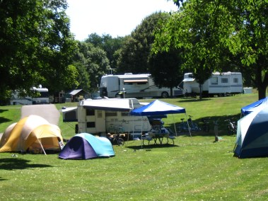 Hickories Park Camping