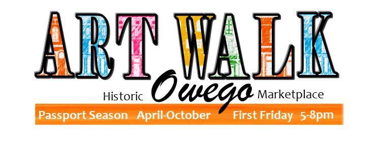 Owego's First Friday Artwalk