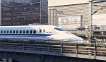 FREE View : Terrace to watch Shinkansen(Bullet train) action in Tokyo