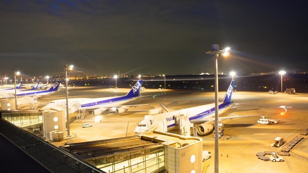 Haneda terminal