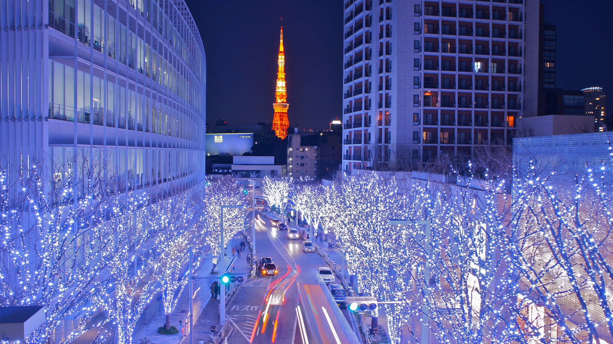 Christmas Illumination at the Roppongi Hills : Artelligent ...