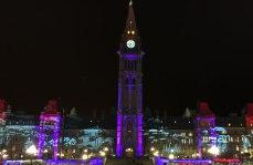 Parlamento Canada Navidad