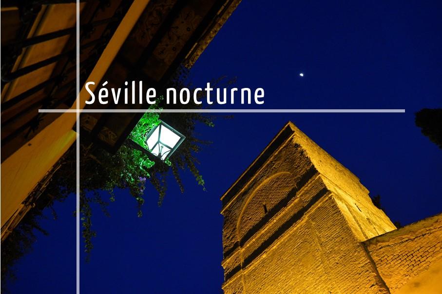 Tour de Séville de nuit