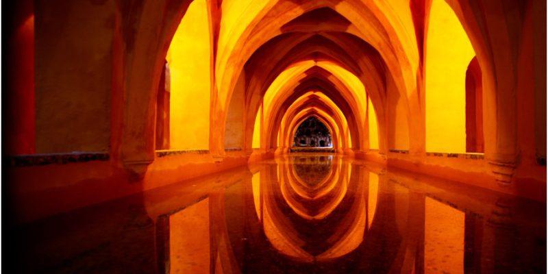 Visita guiada a los Reales Alcázares de Sevilla, baños María Padilla