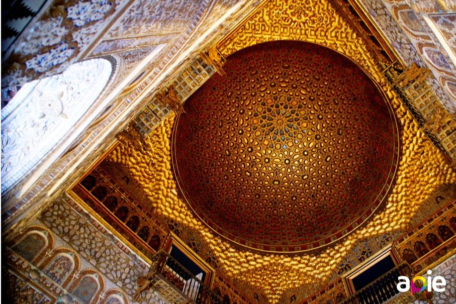 Visita guiada a los Reales Alcázares de Sevilla, salón de Embajadores