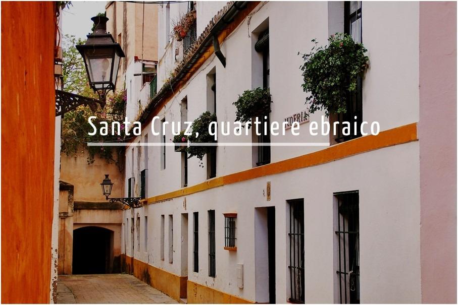 Tour per il quartiere di Santa Cruz di Siviglia in italiano