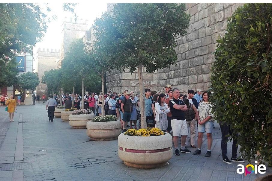 Evitar las colas de acceso al Alcázar de Sevilla