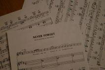 And finally: Chorprobe für das GBZ-Jubiläum Ende des Monats - Take That in the house :)