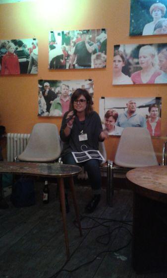 Maria aus Barcelona über Book Machine