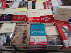 Buchauslage in Frankreich - auch hier spielen Preisgewinne eine große Rolle beim Verkauf