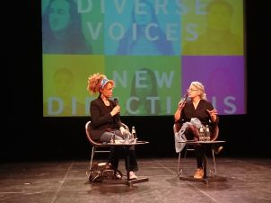 Bernardine Evarisot spricht mit der Kinder- und Jugendbuchautorin Catherine Johnson #BritLitBerlin