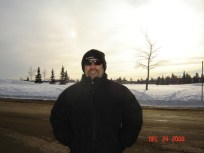This was the coldest day I've ever felt; about -40 with wind chill