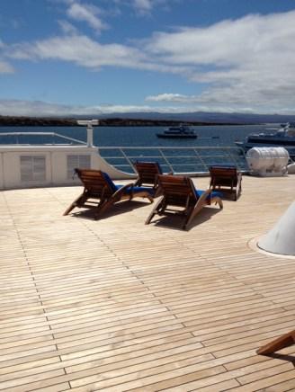 main deck of the Ocean Spray