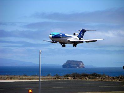 landing at Balta Island