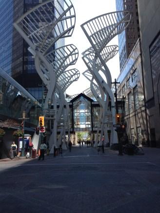 Stephen Ave Pedestrian mall