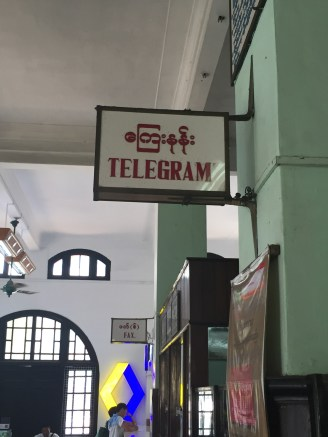 """What the hell is a """"telegram""""?"""