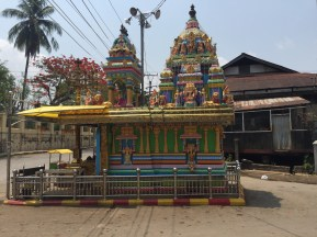 local Indian pagoda