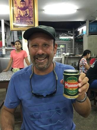 Myanmar's home beer
