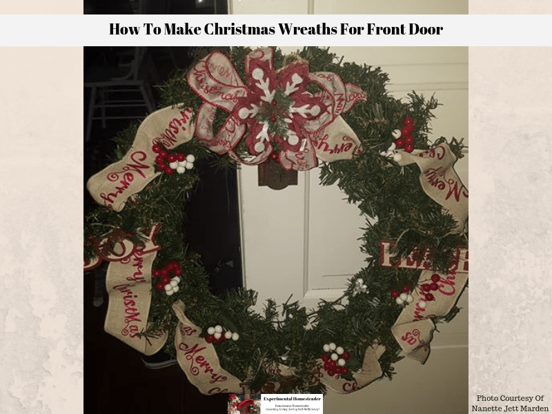 Decorating Ideas For Christmas Wreaths