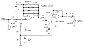Index of diySchematicsDistortion Boost and Overdrive