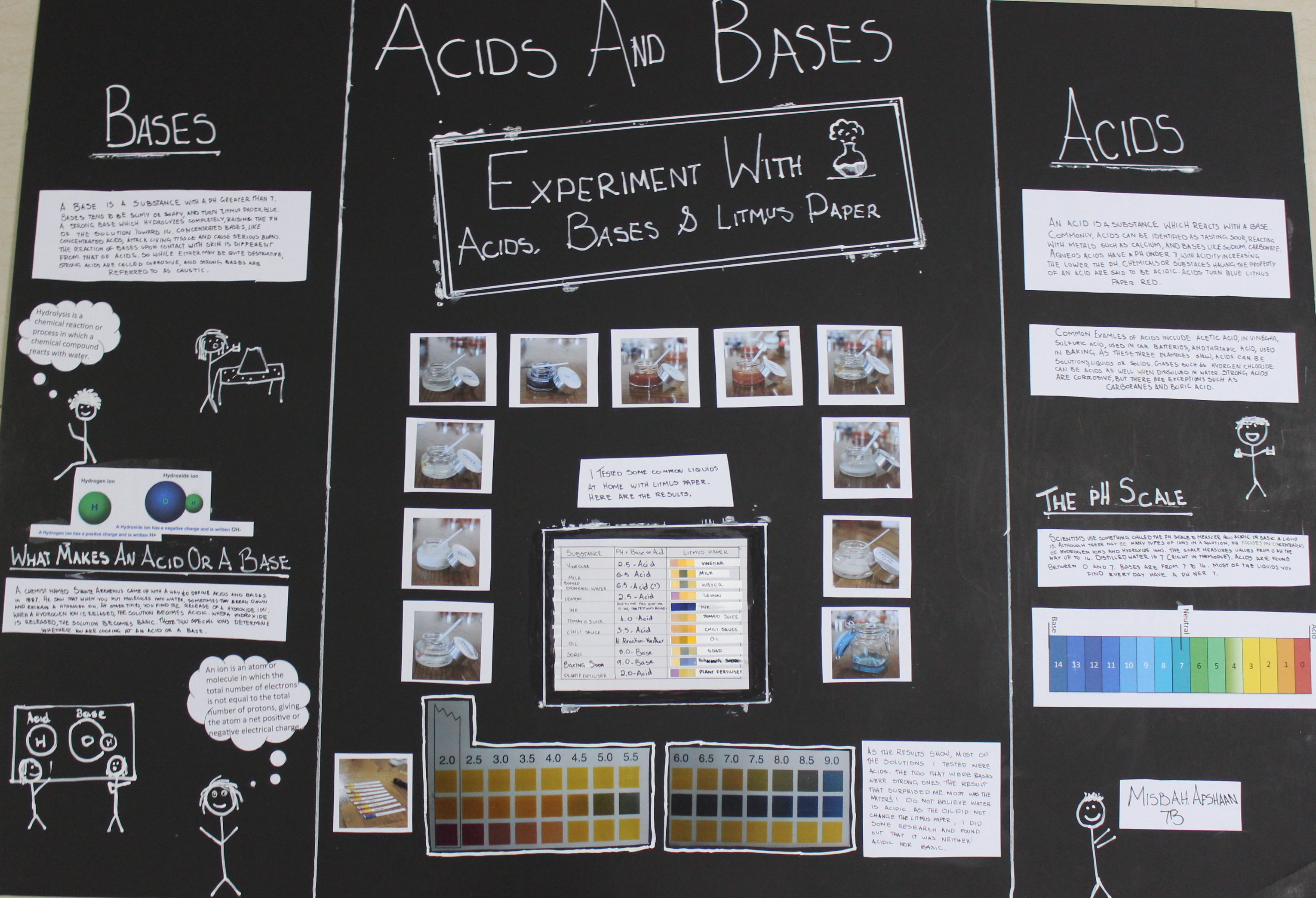 M S Science Fair Project