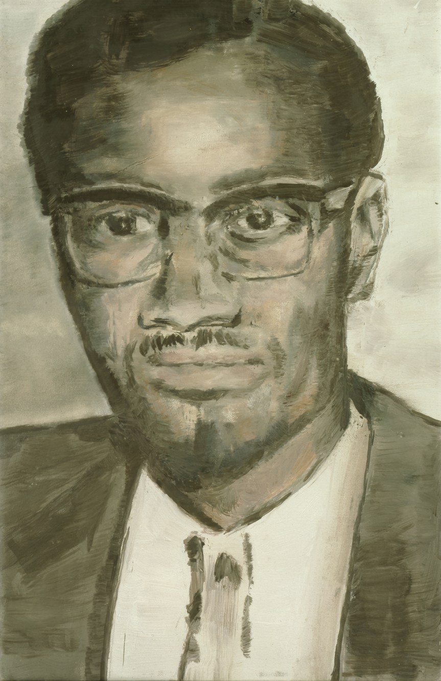 Luc Tuymans Lumumba 2000 oil on canvas 62 x 46 cm (24.5 x 18 in)