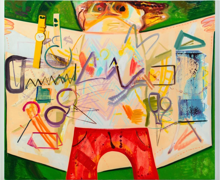 Dana Schutz Flasher Oil on canvas 190.5 x 223.5 cm (75 x 88 inches) 2012