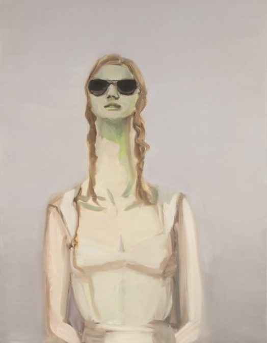 Janet Werner Becky, 2010, oil on canvas, 31 x 24'' http://www.parisianlaundry.com/fr/artistes/janetwerner/becky