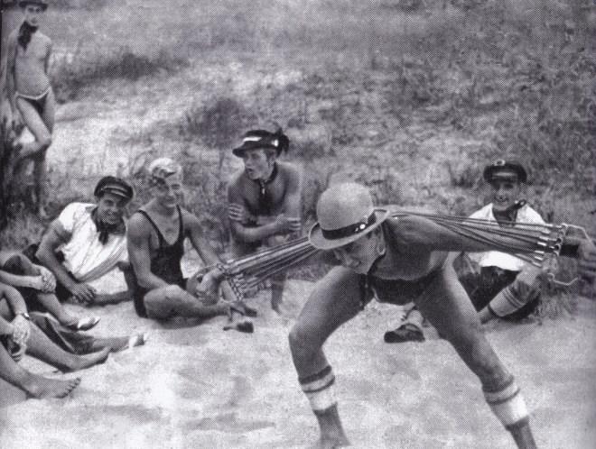 Wild Boys Initiation ritual, 1920s.
