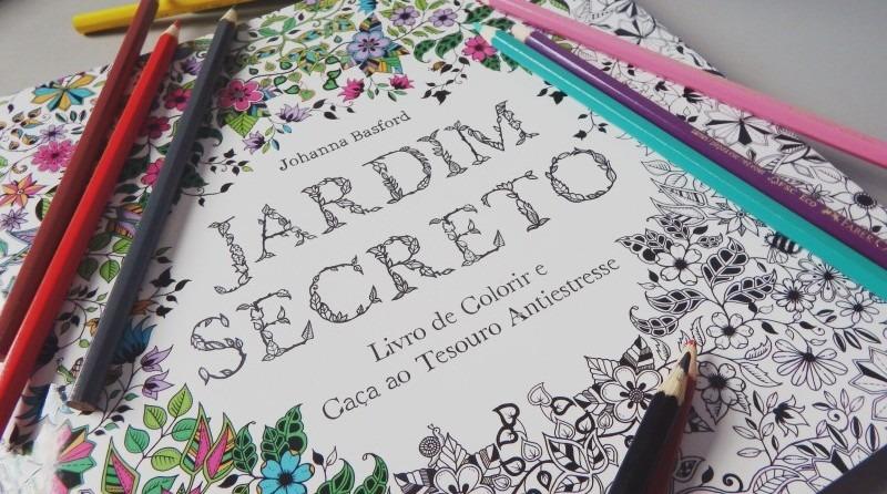 Livros De Colorir Para Adultos: Livro De Colorir Para Adultos Vira Febre No Brasil
