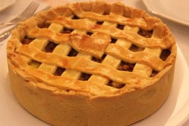 Torta Carne Seca Abobora. Foto: Claudia Zorzett
