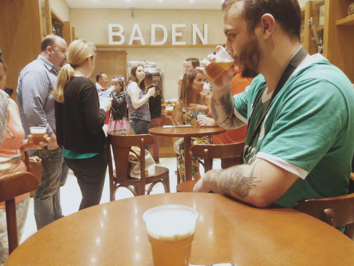 Degustação da cerveja Cristal da Baden Baden Foto: ExperiMenteSP
