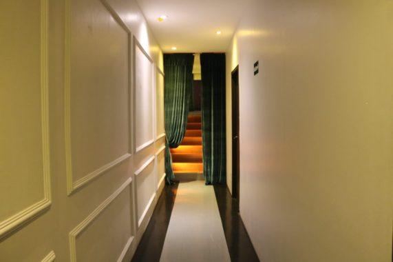 Corredor Escape Hotel. - Foto: ExperimenteSP