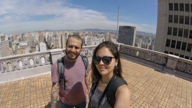 Selfie Felipe e Bruna - Foto: ExperimenteSP