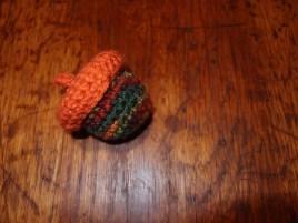 Crochet Acorn Box