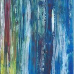 Peinture intuitive abstraite