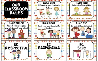 class rules 3