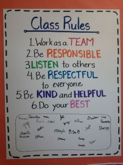 class rules 6