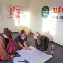 Foto des ersten Planungstreffens fürs utopival
