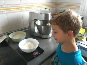 Baking can be magical for children