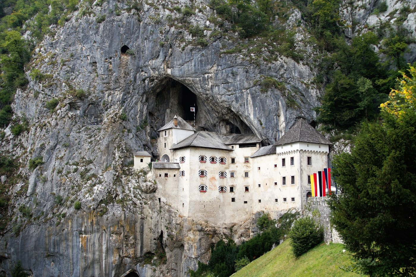 Castle in a cave