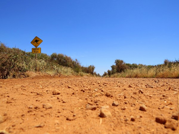 Australia, dirt road